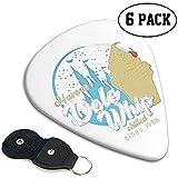 Have A Dole Whip Guitar Picks 6 Pack de médiators pour guitare acoustique et électrique