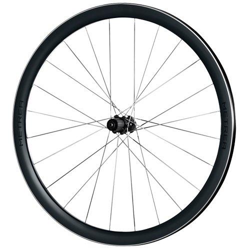 Shimano Tra Metrea aluminium Cub Disc Qr racefiets, uniseks, volwassenen, grijs, eenheidsmaat