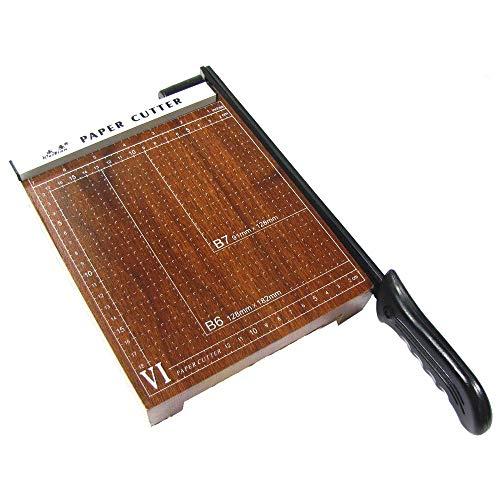 PrimeMatik - Cizalla de palanca para papel A5 (20x18cm)