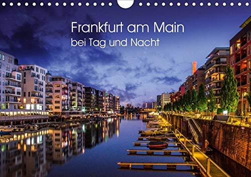Frankfurt am Main bei Tag und Nacht (Wandkalender 2020 DIN A4 quer): Wunderbares Frankfurt (Monatskalender, 14 Seiten ) (CALVENDO Orte)