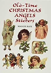 christmas angel stickers