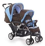 Chic 4 Baby 274 41 Geschwisterwagen DUO Terranova mit Babytragetasche...