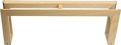 ウッドニー 木製スリッパラック ホワイトアッシュ KL010-H 500×85×180mm