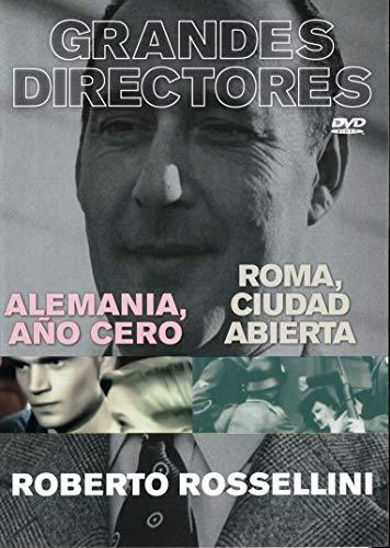 Grandes Directores 6 ROBERTO ROSSELINI - ALEMANIA, AÑO CERO (1947) / ROMA, CIUDAD ABIERTA (1945)