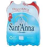 サンタンナ イタリアアルプス天然水 炭酸水 ペット 1.5Lx6本