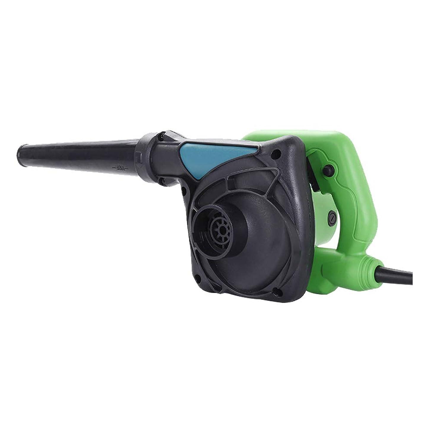 ブレード送風機、片手で大容量エアブレードダスト除去ファン電動インフレータ、軽量、可変速制御、掃除機、家庭用産業として使用することができます