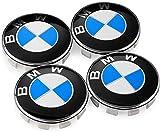 AOSTA Satz von 4 Radnabenabdeckung für B-M-W, coprimozzi per cerchi centrali da 68 mm per Tutti i modelli Con Logo ruote...