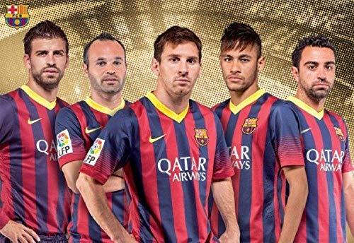 HDGREF Puzzle 1000 Piezas Barcelona Football Adultos Rompecabezas Animal para Infantiles Adolescentes