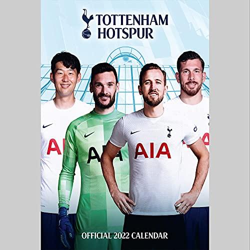 Official Tottenham Hotspur 2022 Calendar – Month To View A3 Wall Calendar (The Official Tottenham Hotspur FC A3 Calendar 2022)
