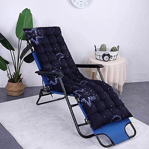 Home - Cojín largo para sillón reclinable y silla de ratán plegable para jardín o tumbona, cojín de sofá Tatami Mat