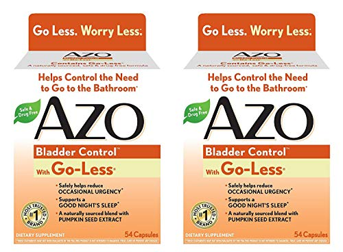 AZO Bladder Control, 54 Count x 2