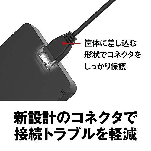 BUFFALOUSB3.1(Gen.1)対応耐衝撃ポータブルHDD1TBブラックHD-PGF1.0U3-BKA