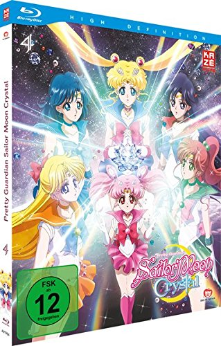 Sailor Moon Crystal - Staffel 2 - Vol.2 - Box 4 - [Blu-ray] [Alemania]