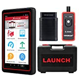 LAUNCH X431 PRO Mini Bi-Directional Scan Tool Full System Scanner,Key Programming,Reset Functions ABS Bleeding,TPMS,EPB,SAS,DPF,BMS,ECU Coding,Injector Coding, Full Connector Kit- Free Online Update