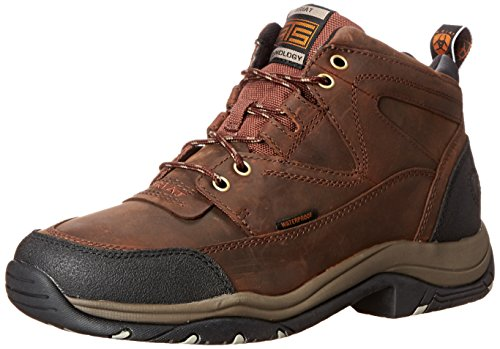 Ariat Men's Hiking Boot, Terrain H20 Copper, 9