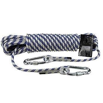 LIFEIYAN Alpinisme Corde Auxiliaire 8mm Corde en Nylon Corde D'évasion Corde d'escalade en Plein Air Corde d'escalade (Size : 15m)