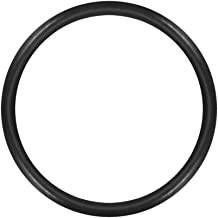 uxcell O-Rings Nitrile Rubber, 11mm Inner Diameter, 13mm OD, 1mm Width, Round Seal Gasket Pack of 50