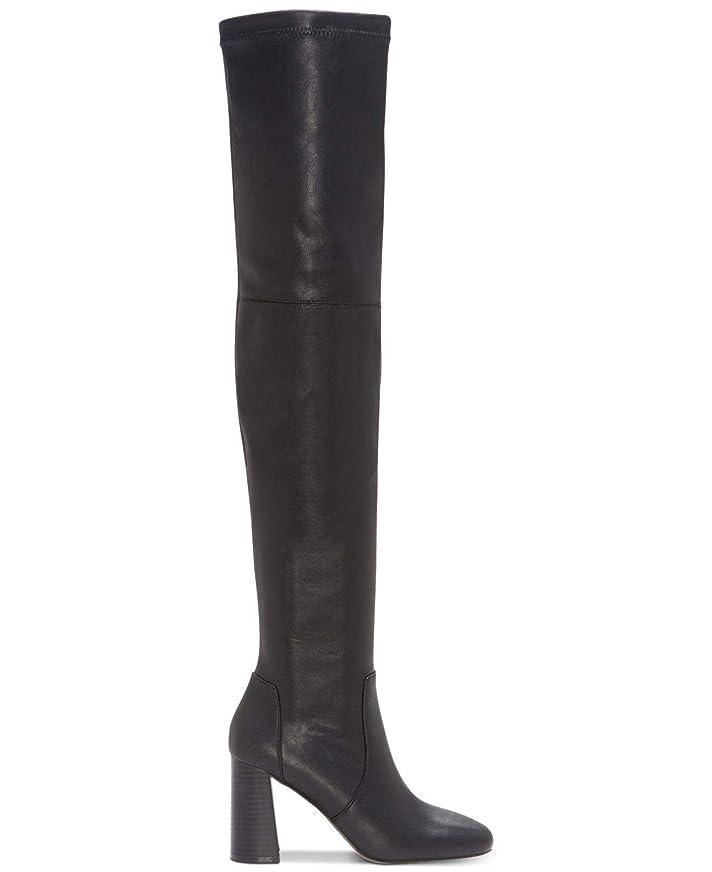 豚パックモーテル[INC International Concepts] Womens delisa Almond Toe Over Knee Fashion Boots [並行輸入品]