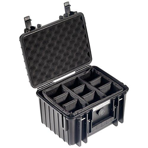 B&W outdoor.cases Typ 2000 mit variabler Facheinteilung (RPD) - Das Original