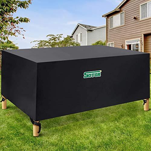 Sotor Garden Furniture Covers Waterproof, 420D 71inch Outdoor Furniture...
