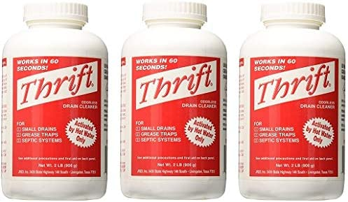 Thrift MARKETING GIDDS TY 0400879 Drain Cleaner 2 lb 3 Pack product image