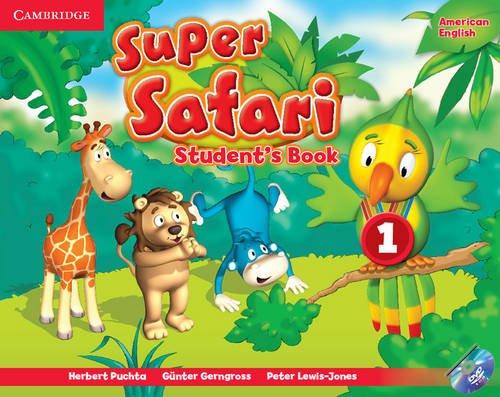 Super Safari Level 1 Student's Book [With DVD ROM]