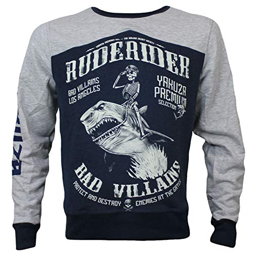 Yakuza Premium Herren Pullover YPP 2824 blau