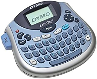 Dymo LetraTag LT100-H Label Maker - 6.8mm/s Color - Tape - 0.47-160 dpi Auto Power OFF Manual Cutter Time Function Date Function (1733011)