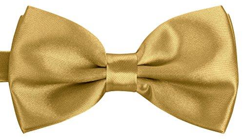 BomGuard luxus-goldene herren-fliege schleife damen frauen männer mann hund katze weihnachten mann gebunden gold