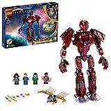 LEGO 76155 Marvel The Eternals A la Sombra de Arishem, Juguete de Construcción de Superhéroes para Niños +7 años