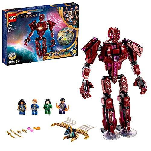 LEGO Marvel All'Ombra Di Arishem, Giocattoli Bambini 7 Anni e Più, Minifigure Supereroi, Idee Regalo, 76155