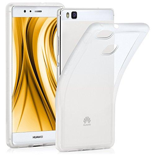 OneFlow® Funda Fina, Ligera y Transparente de Silicona   Compatible con Huawei P9 Lite, Ultra Transparent