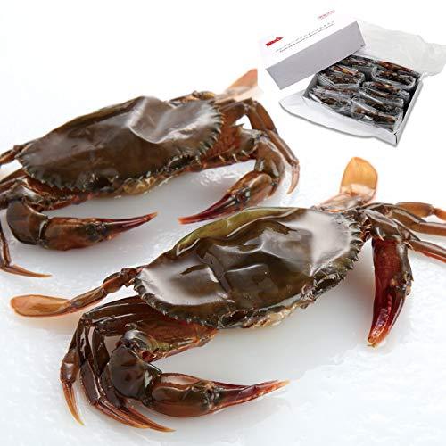渡り蟹 ワタリガニ 脱皮ガニ ソフトシェル クラブ プライム 約1kg(約70g×14匹) 冷凍食品