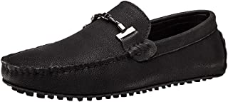 ONCEFIRST Men's Casual Loafer Slip on Moccasin Flat Boat Shoes