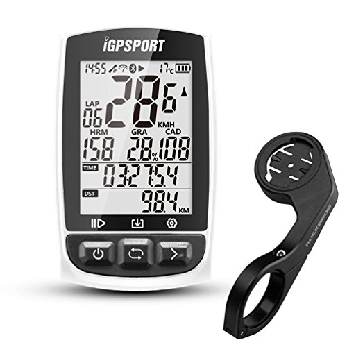 iGPSPORT GPS Bike Computer Wireless Cycling Computer with ANT+ Function Cycle Computer with Bike Mount