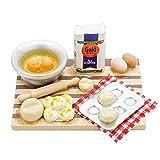 Odoria 1/12 Miniatur Lebensmittel Brot Backen Szene Set Für Puppenhaus Küche Zubehör