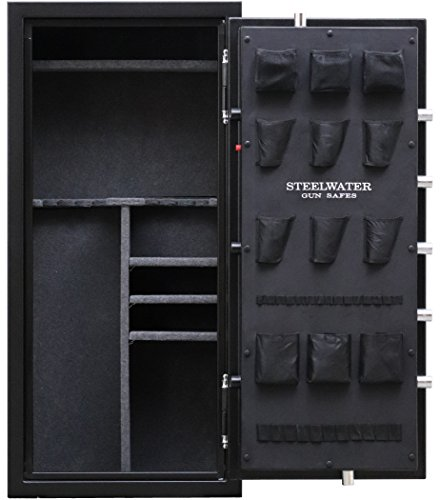 New and Improved Steelwater Heavy Duty 20 Long Gun Fire Protection for 60 Minutes AMSW592818-blk