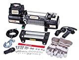 Sinoking 12VDC 9600LB/4354kg Electric Winch, Off-Road Winch with 5/16'×65′(feet) Wire Rope, Wireless Remote Control