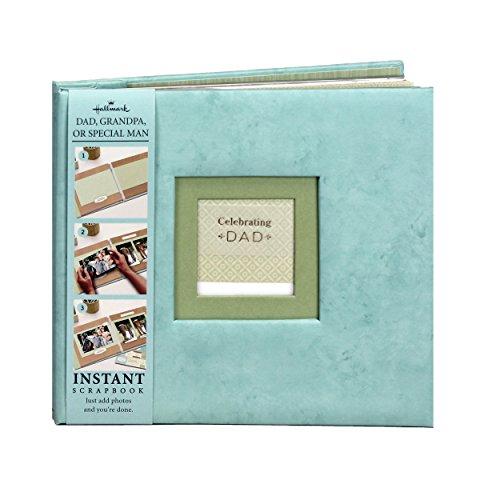 """Hallmark Album Celebrating Dad Instant Scrapbook and Memory Book - Photo Album - 9.5""""x9"""""""