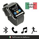 endubro SMARTWATCH U8 OROLOGIO ANDROID DIGITALE TOUCHSCREEN BLUETOOTH - MENÙ IN ITALIANO PER SAMSUNG, HTC, Sony, LG, HTC, Ecc.