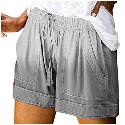 Yoga Hose Weites Bein Kurze Hose Damen Jeans Damen Sweat Shorts Sweatpants Women Baggy Kurze Hose Damen Knielang