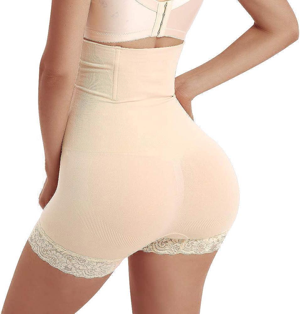 JITIFI Women High Waist Trainer Tummy Control Slim Panties Butt Lifter Body Shaper