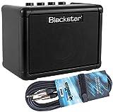 Blackstar FLY 3 - Amplificador para guitarra (incluye cable jack keepdrum de 3 m), color negro