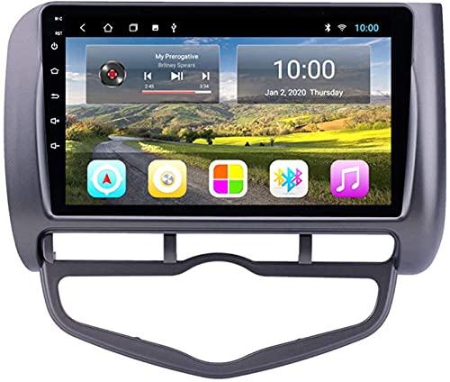 ZHANGYY El Coche con navegación GPS Bluetooth es Compatible con Honda City 2004-2007 Máquina integrada de Android con navegación Totalmente táctil Reproductor Multimedia