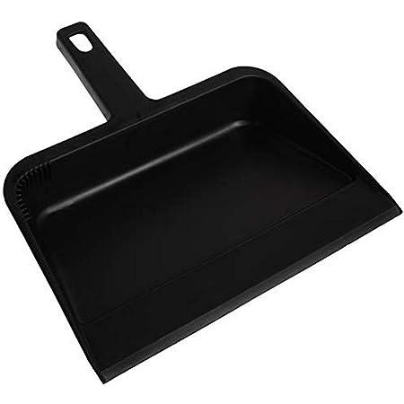 TRADITIONAL DUST PAN HARDWOOD HANDLE RAISED SHOULDER WAREHOUSE WORKSHOP S675197