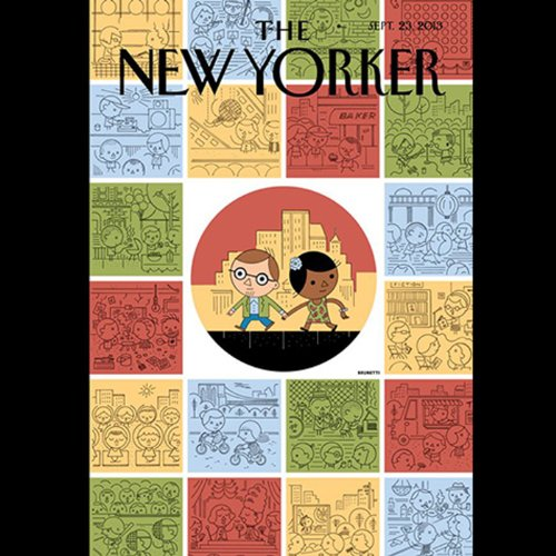 The New Yorker, September 23th 2013 (Calvin Tomkins, Janet Malcolm, James Surowiecki) cover art