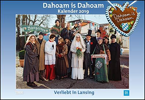 Dahoam is Dahoam 2019 - Broschürenkalender - Wandkalender - mit Jahresplaner - Format 42 x 29 cm