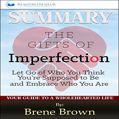 Summary: The Gifts of Imperfection: by Brene Brown audiobook cover art