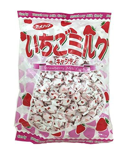 アメハマ製菓 いちごみるくメガパック (1kg×1袋)