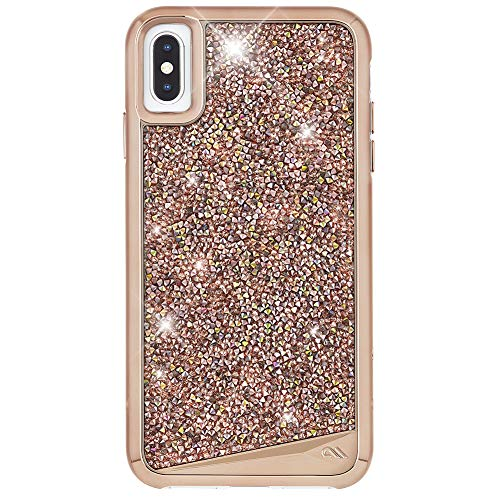 Case-Mate - iPhone XS Max Case - BRILLIANCE - iPhone 6.5 - Rose Gold